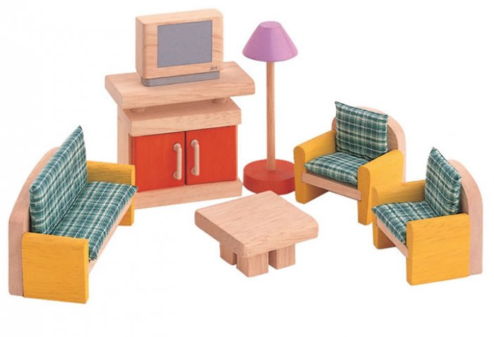 Plan Toys Dolls House Living Room Neo
