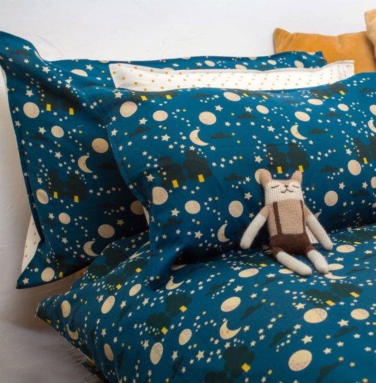 LGR Moon & Stars Cuddly Cot Bed Set