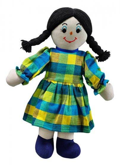 Lanka Kade Mum Doll - White Skin, Black Hair