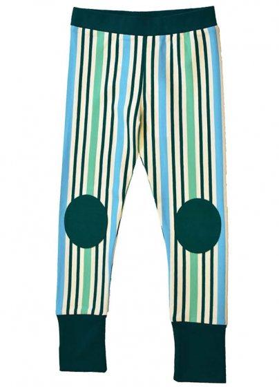 Moromini Striped Blue Leggings