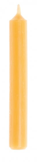 Grimm's 20 10% Beeswax Candles - Amber