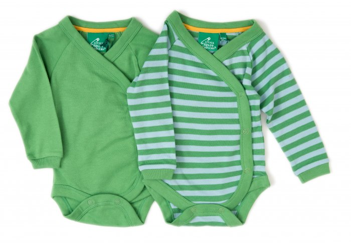 LGR Long Sleeve Babywrap x 2 - Green