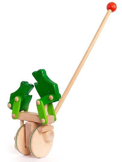 Bajo Jumping Frogs Push Along