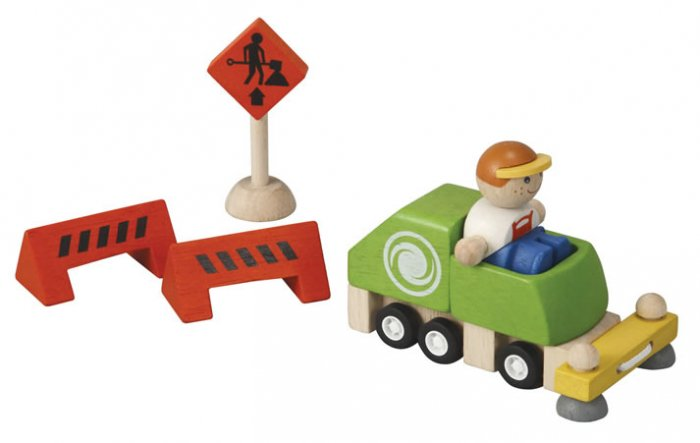 Plan Toys Street Cleaner Set PlanWorld