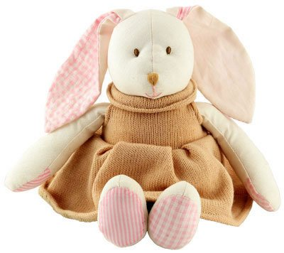 Bunny Doll with Knitted Dress