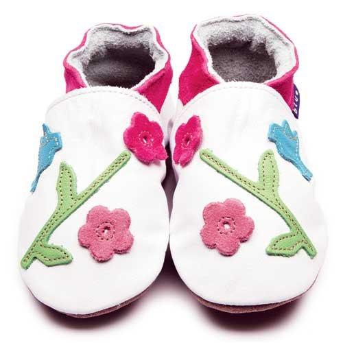 Inch Blue Oriental Bird Shoes