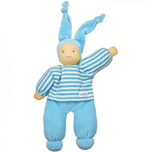 Keptin-Jr Blue Organic Rag Doll