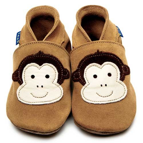 Inch Blue Cheeky Monkey Tan Shoes
