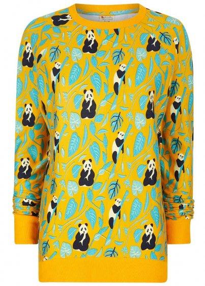 Piccalilly Adults Panda Sweat Shirt