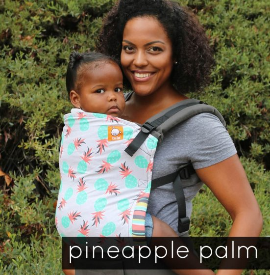 Tula Toddler Carrier - Pineapple Palm
