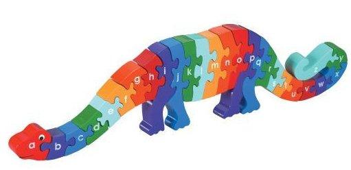 Lanka Kade Dizzie The Dinosaur A-Z Jigsaw