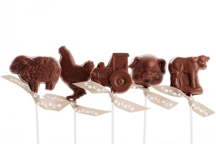 Cocoa Loco Milk Chocolate Farm Lolly 30g