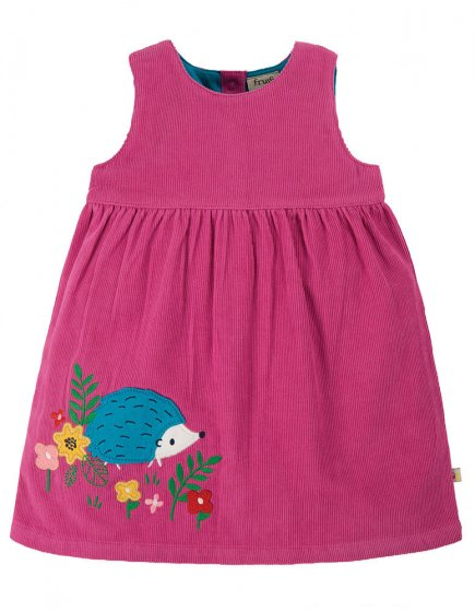 Frugi Foxglove Hedgehog Lily Cord Dress