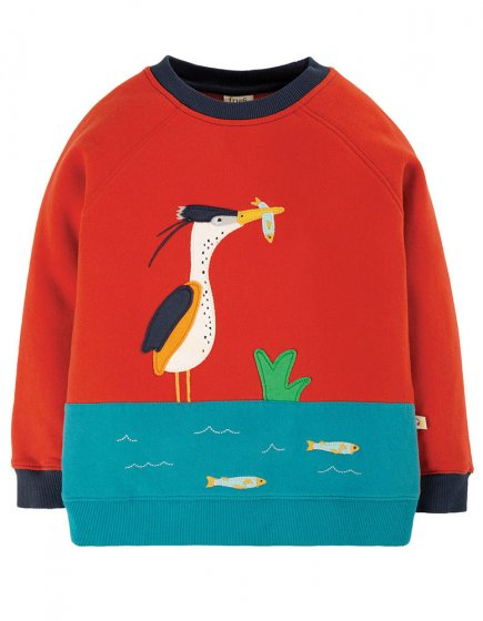 Frugi Ginger Bird Summit Sweatshirt