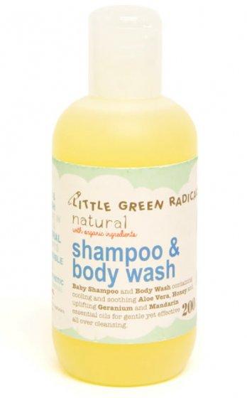 LGR Organic Baby Shampoo & Wash
