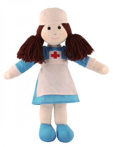 Fair Trade Rag Doll - Nurse