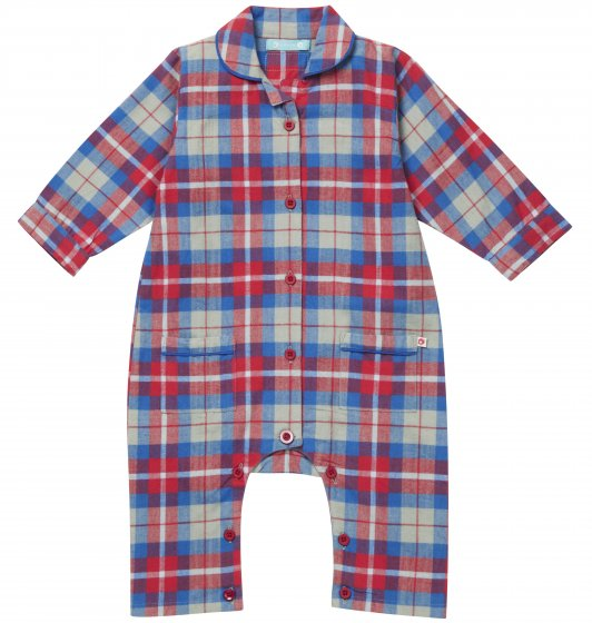 Piccalilly Hetton Check Romper