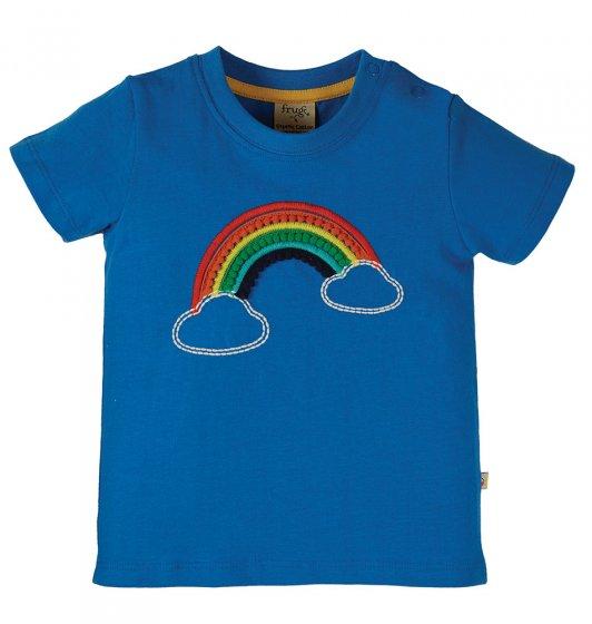 Frigu Avery applique rainbow top