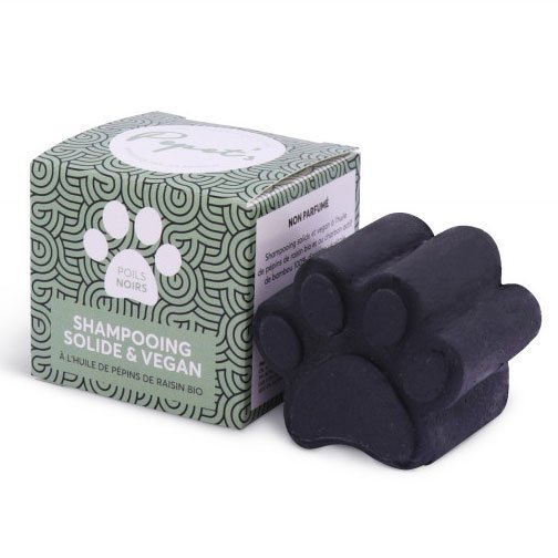 Lamazuna Dogs Solid Shampoo Bar - Black Hair