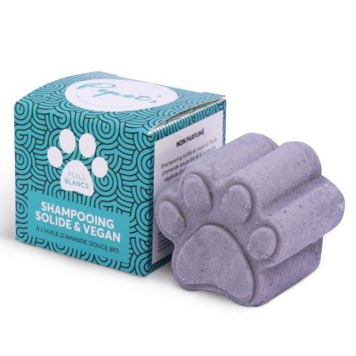 Lamazuna Dogs Solid Shampoo Bar - White Hair