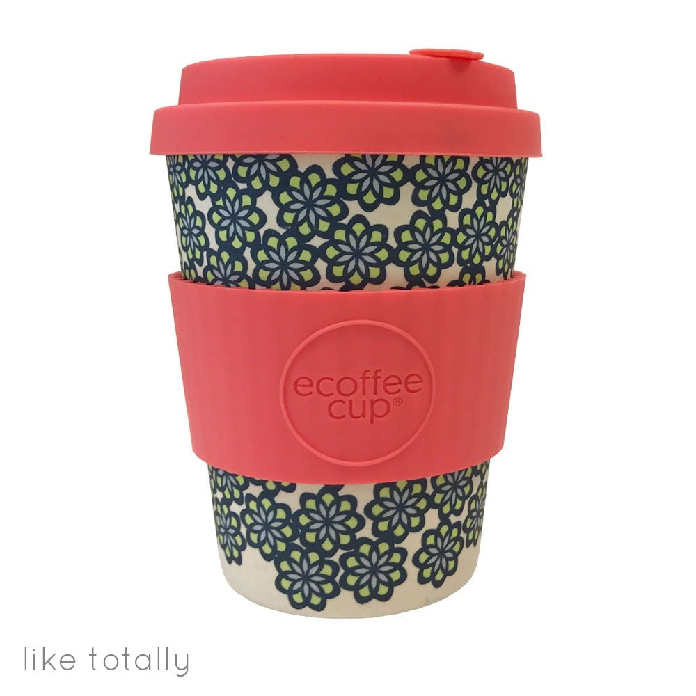 Ecoffee Cup 12oz Reusable Coffee Cup Patterns