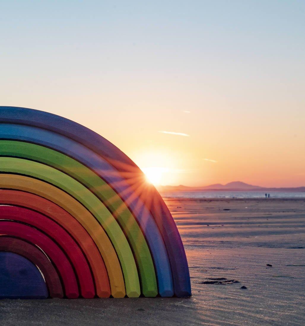 Grimm's Sunset Rainbow 10 Piece