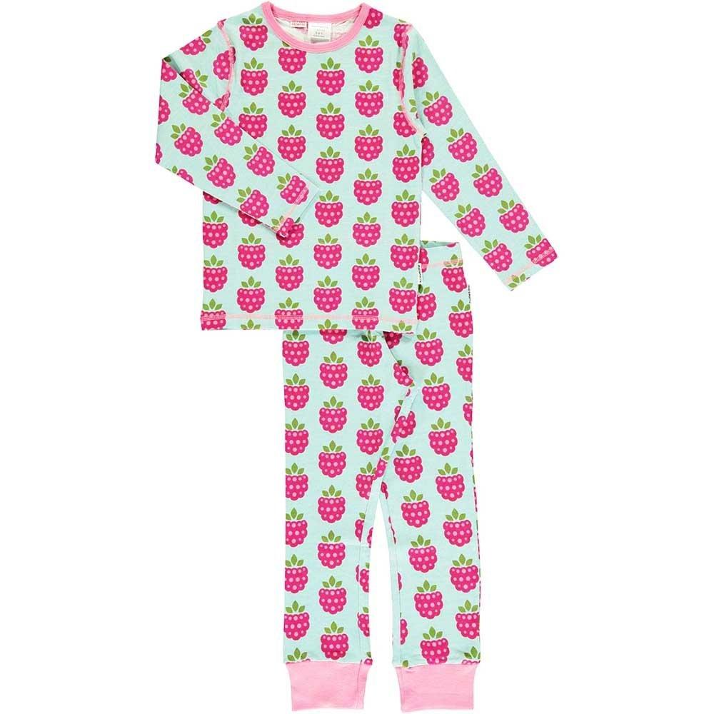 Maxomorra Organic Cotton Raspberry Baby Playsuit 9 12 18 24 Months 3 4 5 6 Years