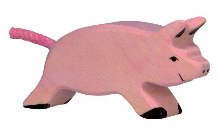 Holztiger Running Piglet