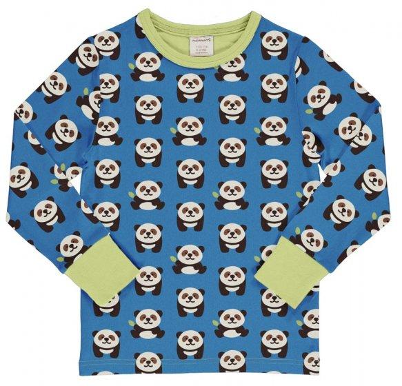 Maxomorra Playful Panda LS Top