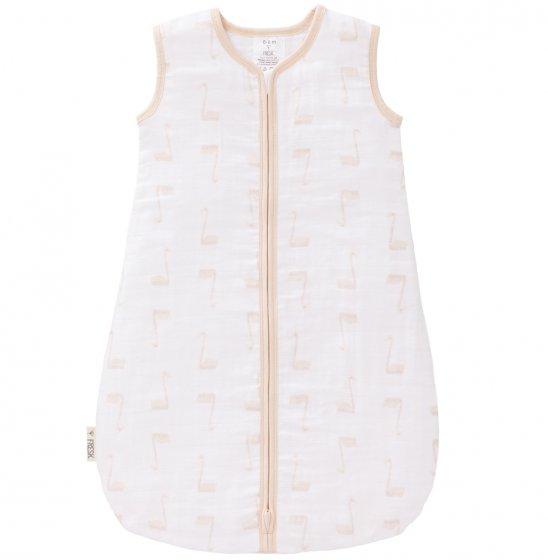 Fresk Muslin Lightweight Sleeping Bag, Peach Swan