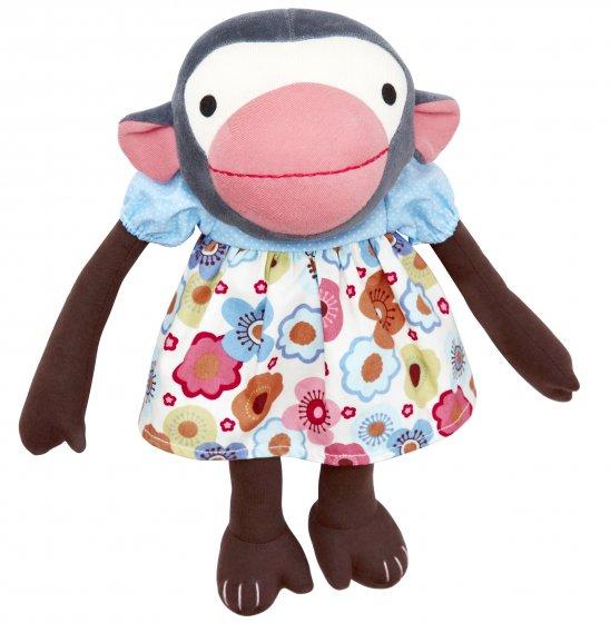 Franck & Fischer Frida Monkey Doll - Flower Dress