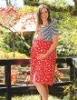 Frugi Adult Indigo Stripe Hotchpotch Smock Dress