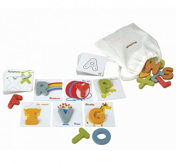 Plan Toys Alphabet A-Z & Cards