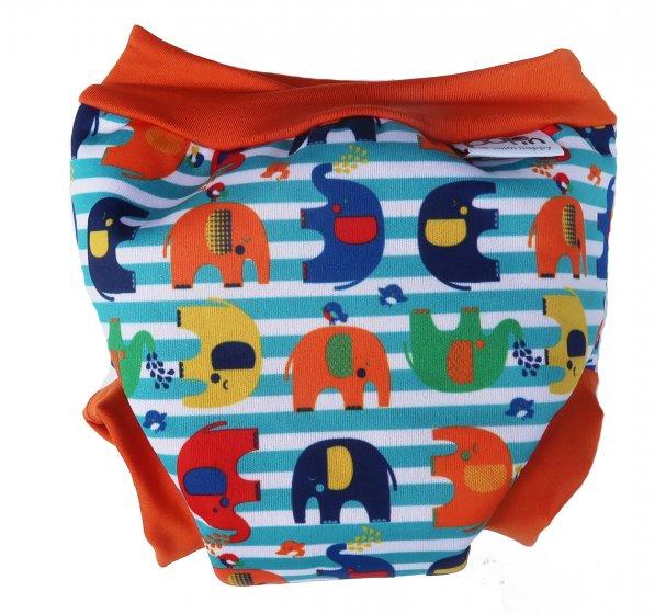 Pop-in Swim Nappy Stripe Elephant