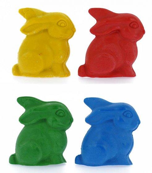 OkoNorm Nawaro Bunny Rabbit Beeswax Crayons