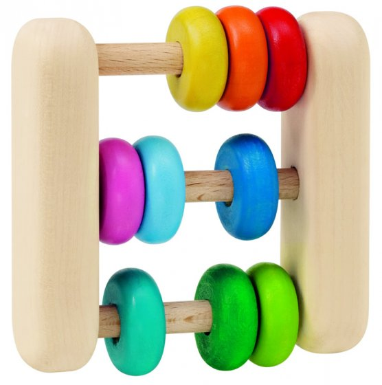 Selecta Abacus Clutching Toy