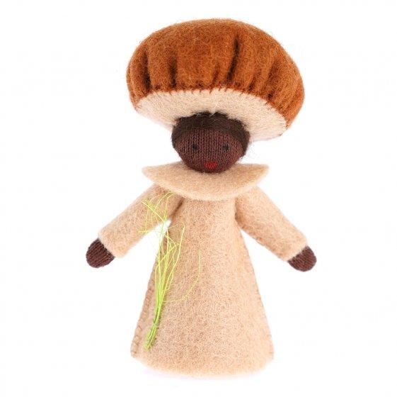 Ambrosius Brown Mushroom Fairy Black Skin