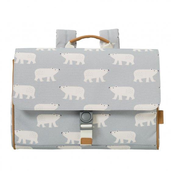 Fresk Polar Bear School Bag