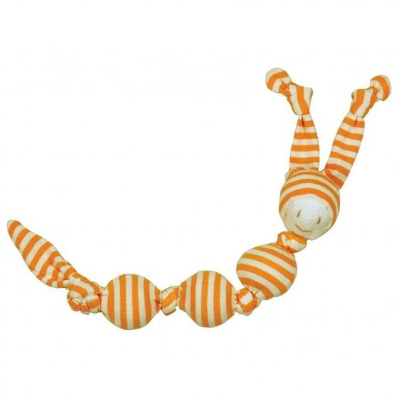 Keptin Jr Rattle Cuddle Sneeky baby toy on a white background
