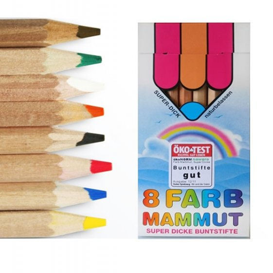 OkoNorm 8 Jumbo Coloured Pencils