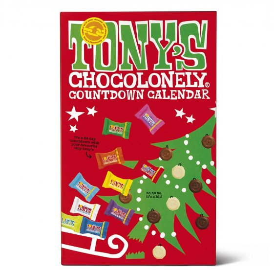 Tony's Chocolonely Big Tiny Advent Calendar