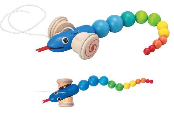 Plan Toys Pull-Along Snake