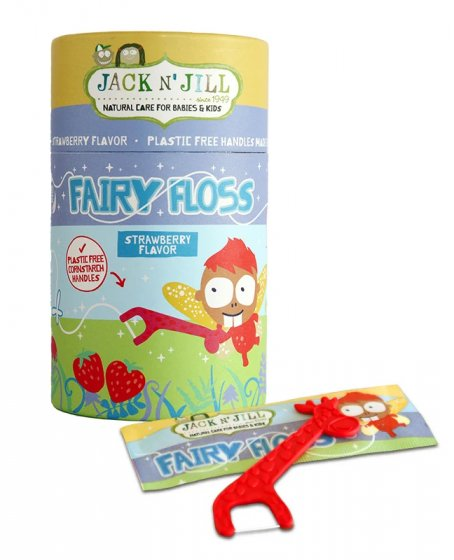 Jack N' Jill Fairy Floss - Strawberry