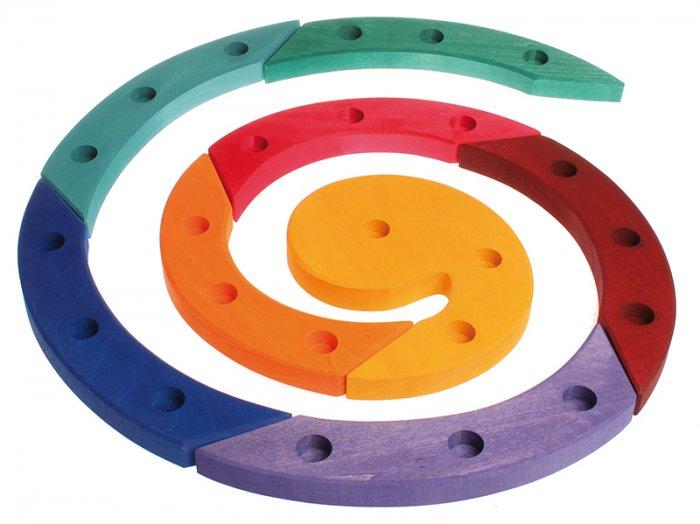 Grimm's Coloured Wooden Spiral