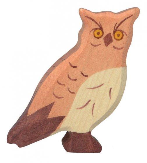 Holztiger Eagle Owl