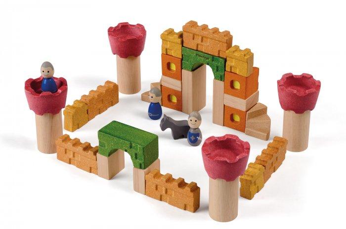 Plan Toys Castle Blocks