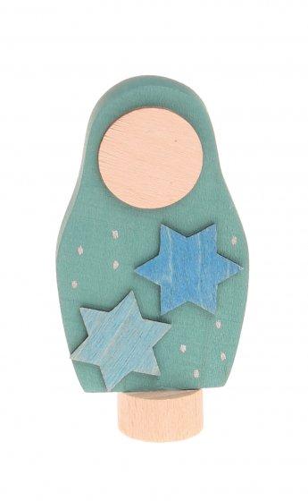 Grimm's Matryoshka Stars Decorative Figure