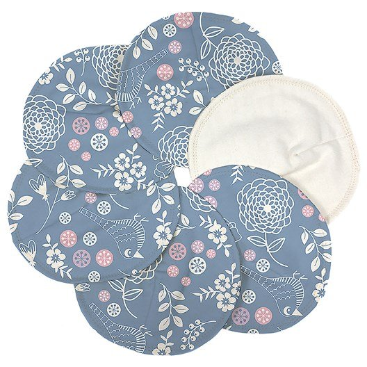 Imse Vimse Garden Print Breast Pads 3 Pairs