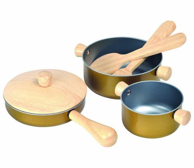 Plan Toys Cooking Utensils Set