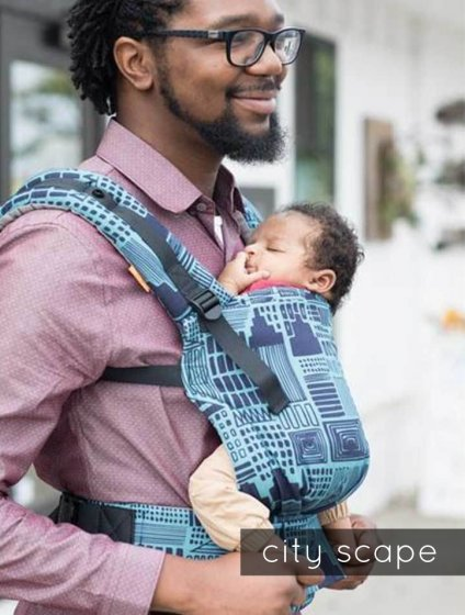 Tula Free to Grow Baby Carrier - Cityscape